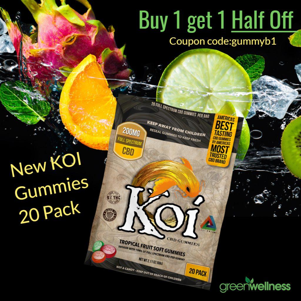 Koi Gummies 20 Pack