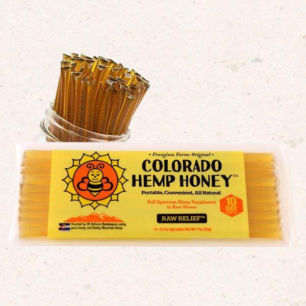 Honey Sticks Raw Relief