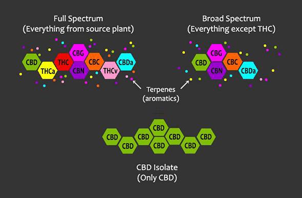 Full broad isolate molecules