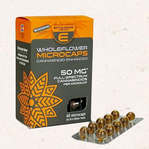 Entourage Wholeflower Microcaps