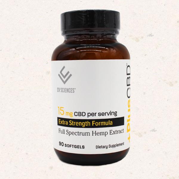 Plus CBD 15mg Extra Strength Full Spectrum Hemp Extract