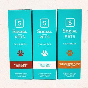 Social CBD Pet Tinctures